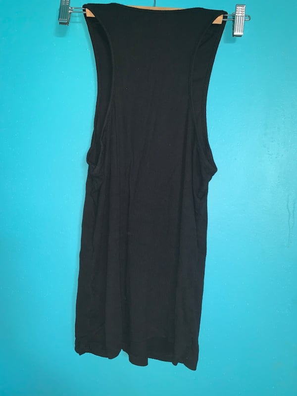 BLACK ZIP UP TANK TOP 6adb540a-1808-482c-b7ec-6dac6d5299bb