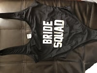 Bride squad medium swim suit only $15!! Brand new never worn with tags & tape overs.  Cambridge, N1R 1L6