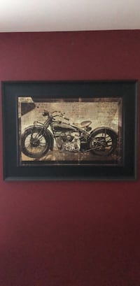 Motorcycle art picture Holly Springs, 27540