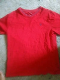 Red Polo V neck Stockton, 95206