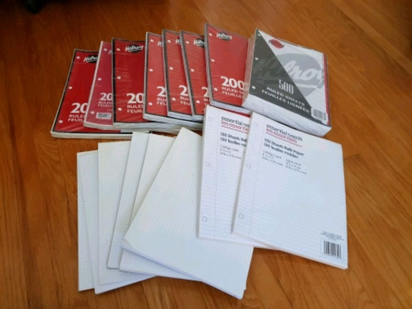 Back to School Paper sale $7 for all