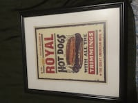 Royal Hot Dogs With All The Trimmings Poster