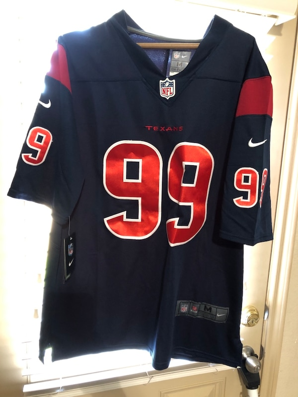 new style 58b61 b1ab9 Nike Elite JJ Watt Jerseys Size Medium Fits like a Large