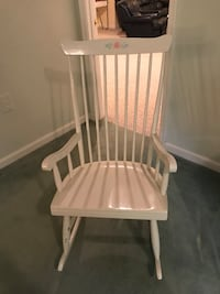 White rocking chair  Fairfax Station, 22039