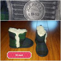 green and blue plaid slippers (new) Edmonton, T5Z
