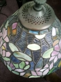Like Tiffany stained Glass lamp 24 in