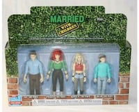 """Married With Children"" figure set   Gaithersburg, 20886"