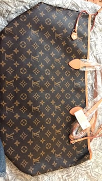 black and brown Louis Vuitton leather tote bag Los Angeles, 90003