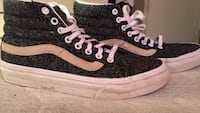 pair of black-and-white high top sneakers Stockton, 95207