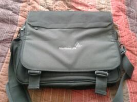 "Laptop bag, will fit up to a 15"" laptop"