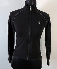 New TNA black zip up size M