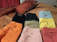 7 polo pants one pair corduroy+extra pair that's s Duncanville, 35456