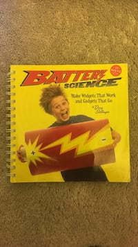 Battery science kids book Edison, 08837