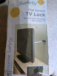 tv SAFETY lock NEVER USED!!!