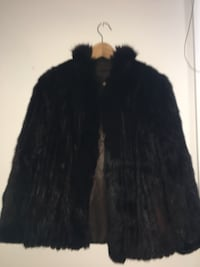 MINK DARK BROWN BLACK FUR COAT SIZE MEDIUM Toronto, M5G