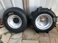 Sand paddle tire set for sale
