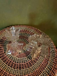 Set of 2 mismatched Star Candle holders Hannibal, 63401