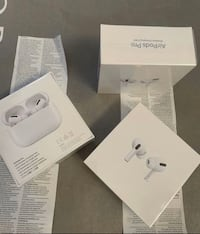Brand new AirPods pro with receipt $300 each with warranty proof