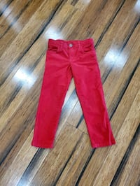 Red cords 5T by Carter's. Great for holiday season
