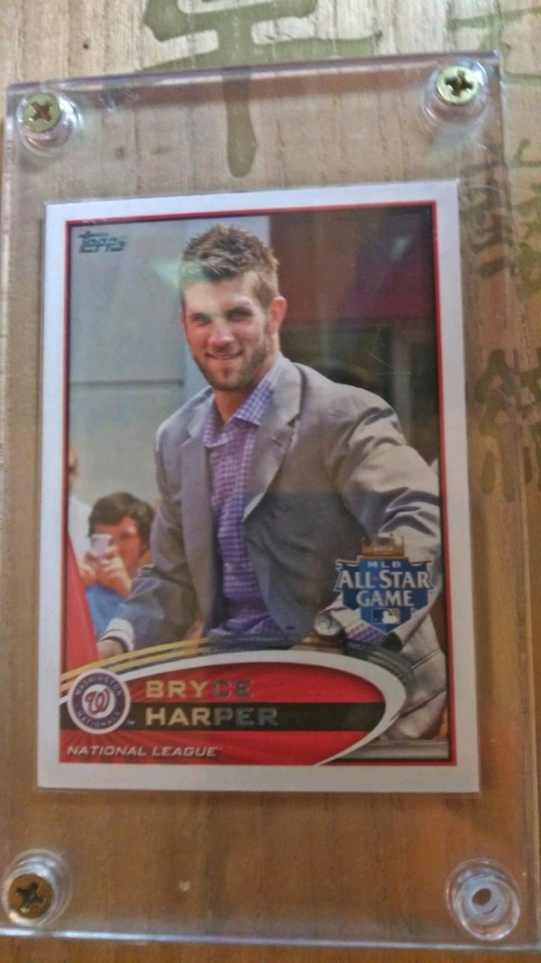 2012 Topps Bryce Harper Rookie Cards