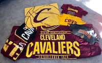 Cleveland Cavaliers Twin Comforter with pillow case + Fleece Blanket + Youth Shirts Edgewood, 41018