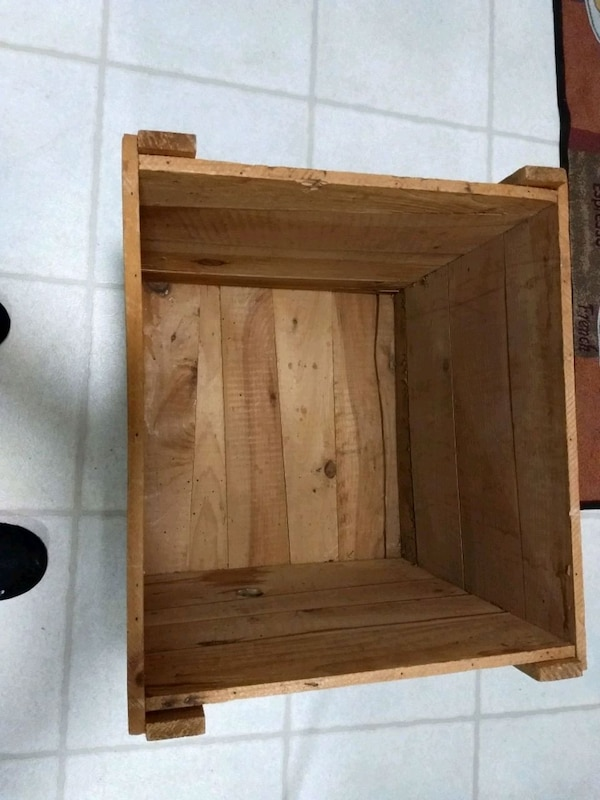 Wood Crate Tall