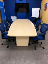 Conference Room Table and Chairs LASVEGAS