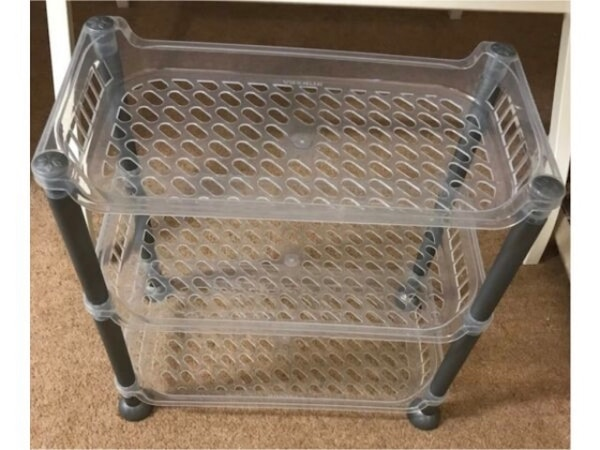 3 stage small cute storage holder