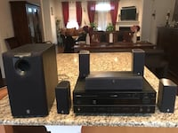 black and gray home theater system Suffolk, 23435