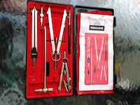 stainless steel hand tools in box