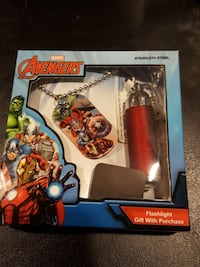 Marvel Avengers Dogtag with Flashlight. North Bergen, 07047