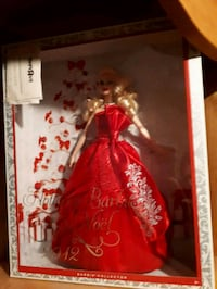 Barbie doll in red dress box New Tecumseth, L0G 1W0