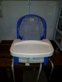 baby's blue and white high chair Vaughan, L6A