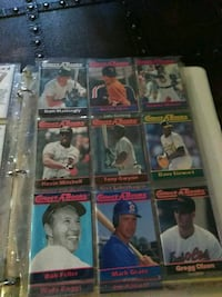 nine baseball collectible cards Knoxville, 37914