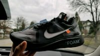 Off White Zoom Fly Black Size 10 Burnaby