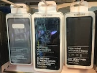 Samsung Galaxy Note 8 Clear View Standing Cover. Black. 100% Genuine! - $40 FIRM