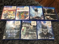 PS4 games x 7 New York, 11385