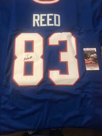 Signed Andre Reed Jersey Hamilton, L9G 2J9