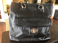 black leather 2-way bag Lorton, 22079