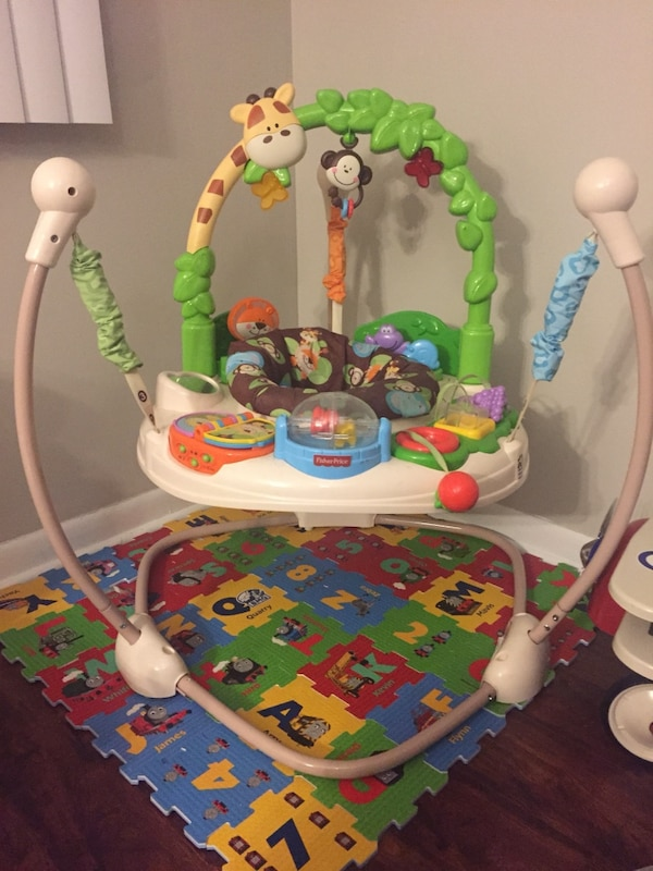 38814283ca4e Used Fisher-Price Go Wild Jumperoo for sale in Slingerlands - letgo
