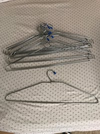 12 heavy duty stainless steel clothes hangers Sunnyvale, 94089