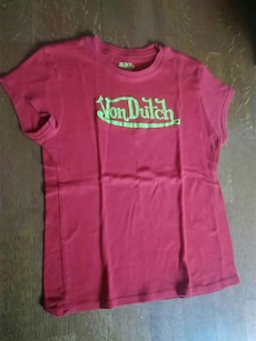 Authentic Von Dutch shirt. 100% cotton.