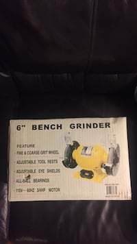"""6"""" Bench Grinder By Pitbull 3/4HP New Factory Sealed in the box"""