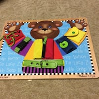 JUST REDUCED basic skills board It's a puzzle Rockville