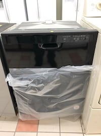 Brand new Open Box Gloss Black Whirlpool dishwashers it has never been used 6 months warranty  Baltimore, 21231