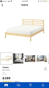 Queen Bed from Ikea Toronto, M2N 5X9