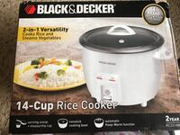Black and Decker 14 cup rice cooker for sale 407 mi