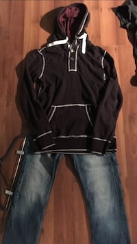Men's outfit 29 Buffalo Jeans and Med Distillery hoodie  Grande Prairie, T8V 8G3
