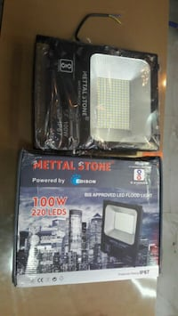 100w Led Flood Lights 1year warranty Free Home Del Mumbai, 400095