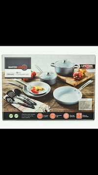10 piece cookware set. Brand New (Great Price)